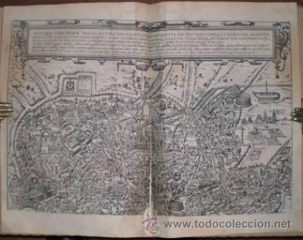 BRAUN: ANTIQUAE URBIS ROMAE. DOS GRABADOS CON PLANOS DE ROMA EN TIEMPOS DE AUGUSTO (Arte - Cartografía Antigua (hasta S. XIX))