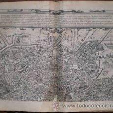 Arte: BRAUN: ANTIQUAE URBIS ROMAE. DOS GRABADOS CON PLANOS DE ROMA EN TIEMPOS DE AUGUSTO. Lote 41438486