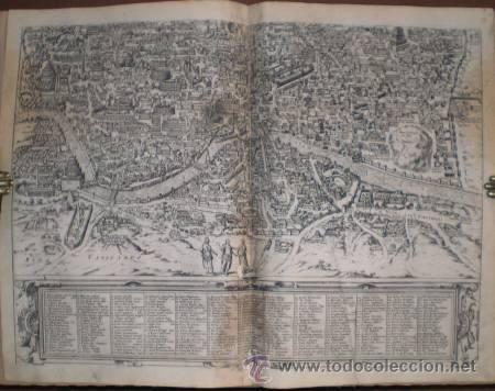 Arte: Braun: ANTIQUAE URBIS ROMAE. Dos grabados con planos de ROMA en tiempos de Augusto - Foto 2 - 41438486