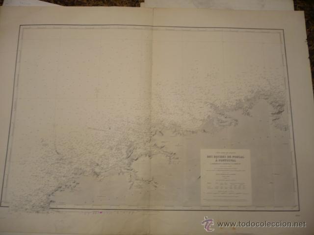 CÔTE NORD DE FRANCE. DES ROCHES DE PORSAL À PONTUSVAL. L'ABERBENOIT, L'ABERVRAC'H, CORRÉJOU (Arte - Cartografía Antigua (hasta S. XIX))