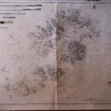 Arte: INTERESANTE MAPA ANTIGUO DE LAS ISLAS SCILLY NUMERADO CON MARCAS , SELLOS, CONNOTACIONES . Lote 43200947