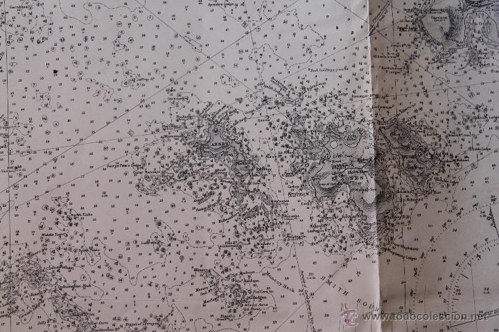 Arte: INTERESANTE MAPA ANTIGUO DE LAS ISLAS SCILLY NUMERADO CON MARCAS , SELLOS, CONNOTACIONES - Foto 8 - 43200947