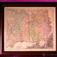 Arte: MAPA, PRINCIPATUS CATALONIAE NEC NON COMITATUUM RUSCINONENSIS ET CERRETANIAE, I. B. HOMANN 1707. Lote 43460864