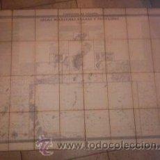 Arte: MAPA - ISLAS MARIANAS PALAOS Y CAROLINAS 1852 - FRANCISCO COELLO / PASCUAL MADOZ 114X84 CM. ENTELADO. Lote 43920698