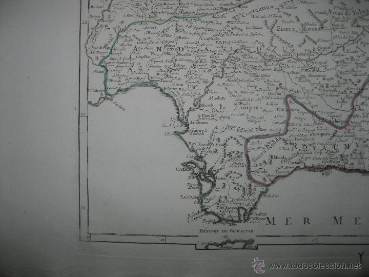 Arte: Gran mapa del sudeste de España.1775 Vaugondy/Santini - Foto 3 - 44977175