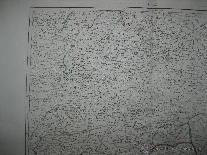 Arte: Gran mapa del sudeste de España.1775 Vaugondy/Santini - Foto 7 - 44977175