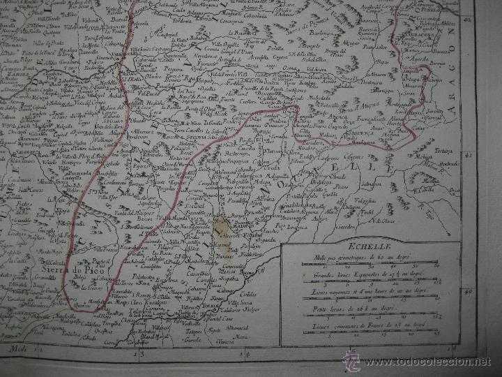 Arte: Gran mapa del norte de España.1775.Vaugondy (Santini/Remondini) - Foto 5 - 44977193