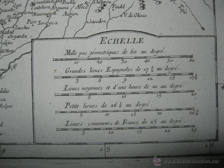 Arte: Gran mapa del norte de España.1775.Vaugondy (Santini/Remondini) - Foto 6 - 44977193