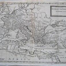Arte: MAPA DEL IMPERIO ROMANO, 1739.HERMAN MOLL. Lote 203442271