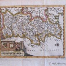 Arte: MAPA DE PORTUGAL, 1700.PIETER VAN DER AA.. Lote 45398564