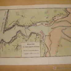 Arte: PRECIOSO PLANO DE PASAGES Y SU RIA. 1828. ACUARELADO. . 21X31 CM. LITOGRAFIA PRIMITIVA. GUIPUZCOA. Lote 46704442