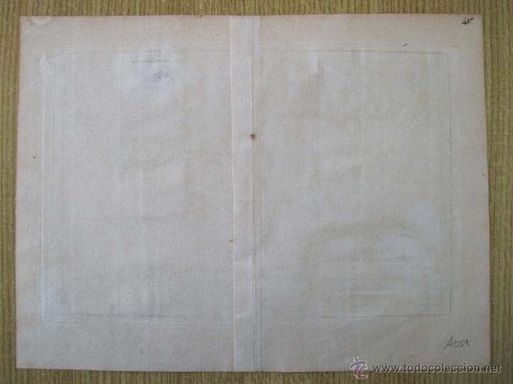 Arte: Mapa del Río de la Plata, Uruguay-Argentina.1746.Bellin - Foto 2 - 47490145