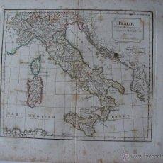 Arte: 'L'ITALIE' PAR ROBERT DE VAUGONDY. Lote 48735038
