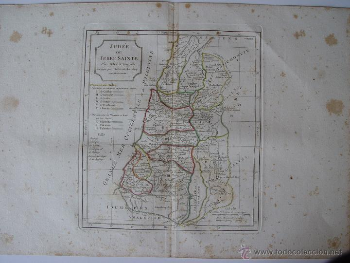 'JUDEE ON TERRE SANTE' PAR ROBERT DE VAUGONDY (Arte - Cartografía Antigua (hasta S. XIX))
