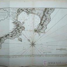 Arte: MAPA DE ZIHUATANEJO, (MÉXICO), 1757. BELLIN. Lote 49033071