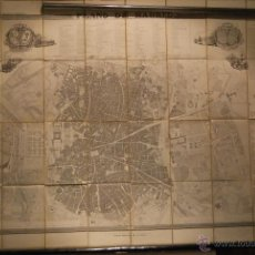 Arte: COELLO-MADOZ. PLANO DE MADRID. AÑO 1848. ENTELADO. GRAN FORMATO. EXCELENTE CONSERVACIÓN.. Lote 49072887