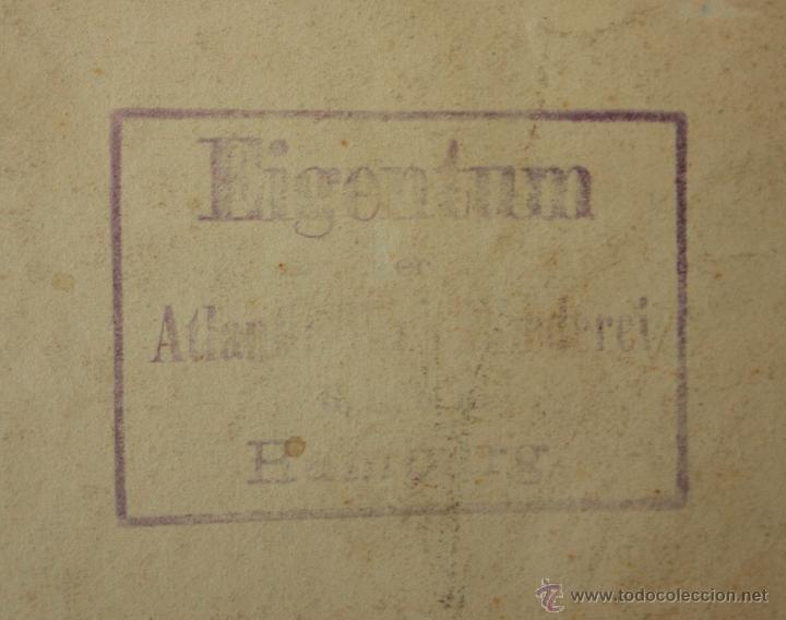 Arte: CARTA NAUTICA INGLESA DEL AÑO 1917. LIVERPOOL BUCHT - Foto 6 - 49766621