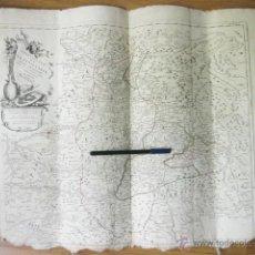 Arte: MAPA GRABADO DEL PRINCIPADO DE TRANSILVANIA DE 1784. A. VENISE. REMONDINI. ATLAS DE FRANCOIS SANTINI. Lote 50288089