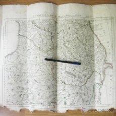 Arte: MAPA DE ARMENIA GEORGIA Y DAGESTAN. L´ARMÉNIE LA GE´ORGIE ET LE DAGHISTAN. 1784 A. VENISE. REMONDINI. Lote 50296335