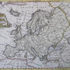 Arte: MAPA DE EUROPA, 1749. JEFFERYS. Lote 50702461