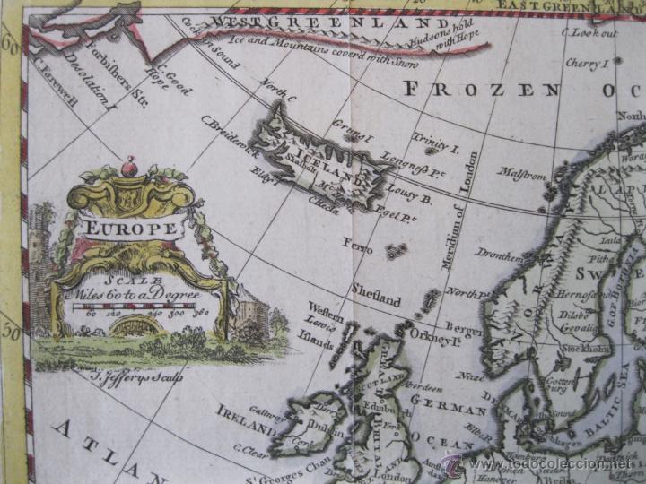 Arte: Mapa de Europa, 1749. Jefferys - Foto 6 - 50702461