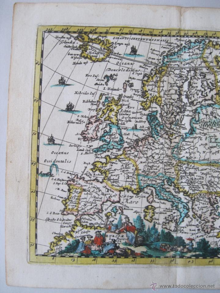 Arte: Mapa de Europa, 1685. Peeters - Foto 3 - 50734076