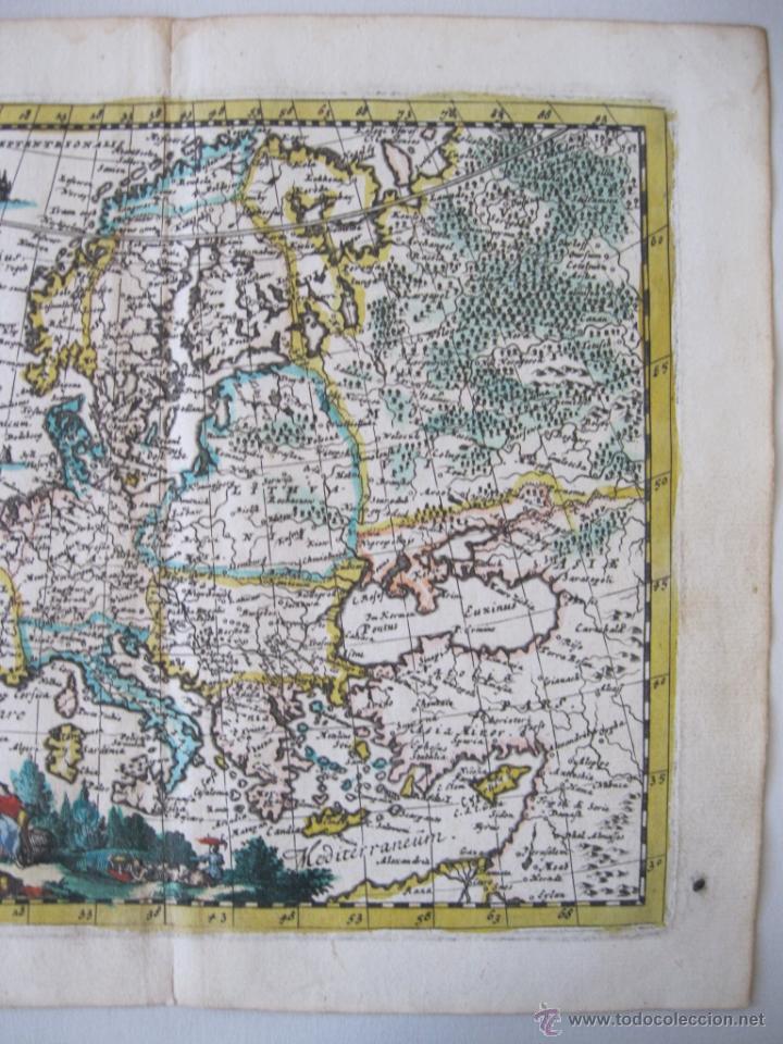 Arte: Mapa de Europa, 1685. Peeters - Foto 4 - 50734076