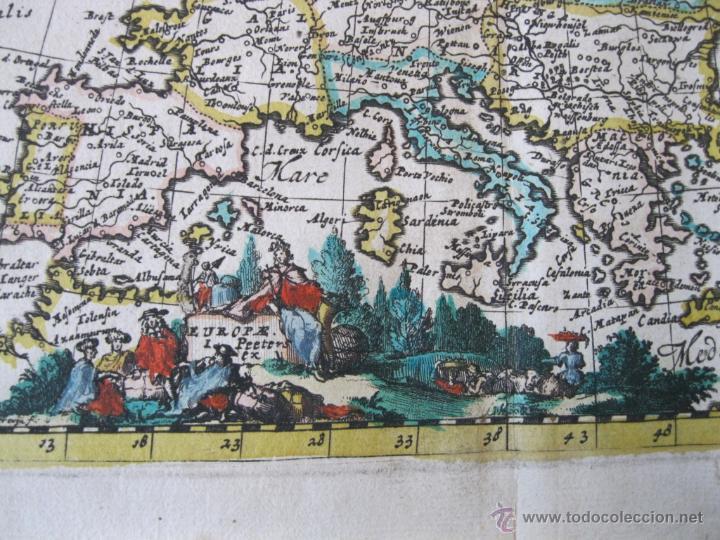 Arte: Mapa de Europa, 1685. Peeters - Foto 5 - 50734076