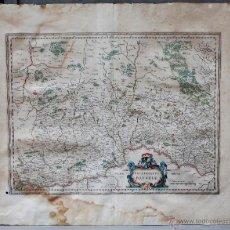 Arte: PALATINADO DE BAVIERA (ALEMANIA) PALATINATUS BAVARIAE, SIGLO XVII. MAPATAMAÑO SOPORTE: 52X64 CM. . Lote 51099715