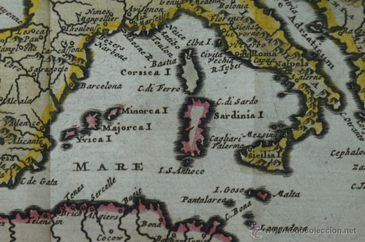Arte: Mapa de Europa. Las aventuras de Jhon Smith, 1706. Pieter Van der Aa - Foto 12 - 51578959