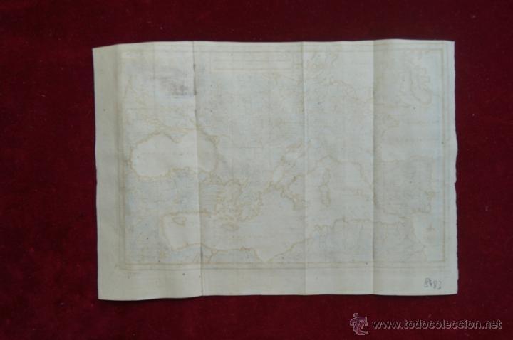 Arte: Mapa de Europa. Las aventuras de Jhon Smith, 1706. Pieter Van der Aa - Foto 13 - 51578959
