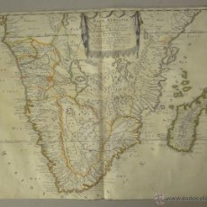 Arte: MAPA DE SUDÁFRICA, 1655. SANSON/MARIETTE. Lote 53159326