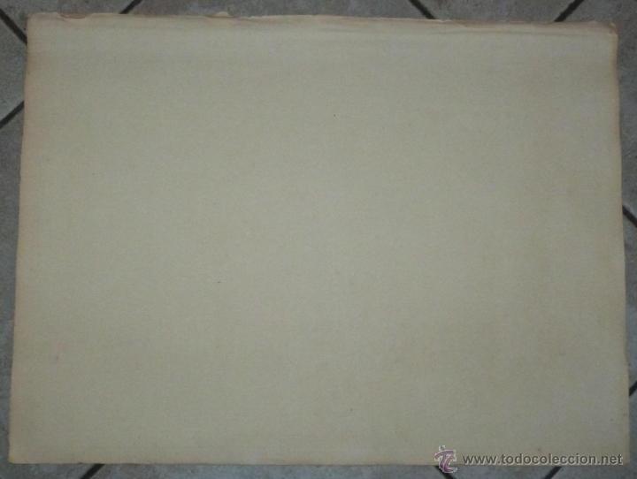 Arte: Gran carta náutica de la bahía de Gibraltar (España), 1762. J. N. Bellin - Foto 10 - 53430714