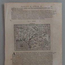 Arte: MAPA DE ANDALUCÍA OCCIDENTAL (ESPAÑA), 1640. PAUL MERULA. Lote 53600100