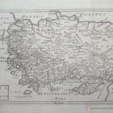 Arte: MAPA DE TURQUÍA ( EUROPA -ASIA), 1780. C. CELLARIUS. Lote 53805746
