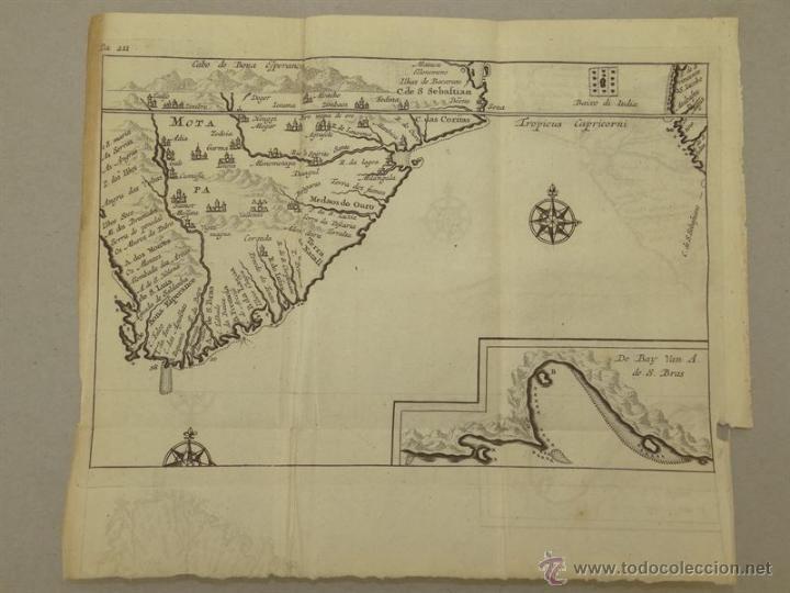 VISTA DE CABO DE BUENA ESPERANZA (ÁFRICA), 1702. RENNEVILLE/ BERNARD (Arte - Cartografía Antigua (hasta S. XIX))