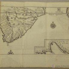 Arte: VISTA DE CABO DE BUENA ESPERANZA (ÁFRICA), 1702. RENNEVILLE/ BERNARD. Lote 53808184