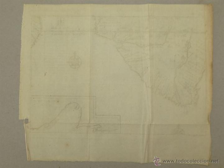 Arte: Vista de Cabo de Buena Esperanza (África), 1702. Renneville/ Bernard - Foto 6 - 53808184