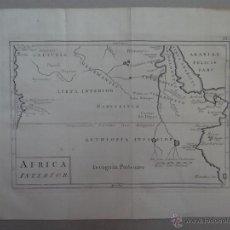 Arte: MAPA DE LA PARTE INTERIOR DEL NORTE DE ÁFRICA, 1750.. Lote 53975266