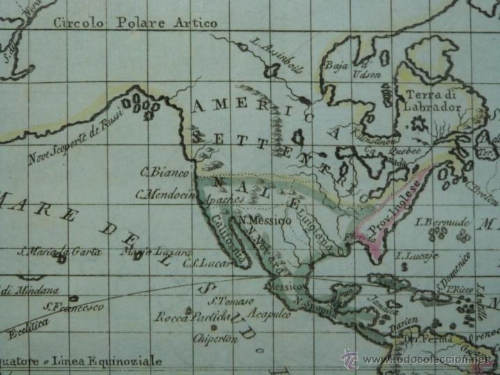 Arte: Mapa de América del Norte y Sur ,1809. - Foto 3 - 53975996