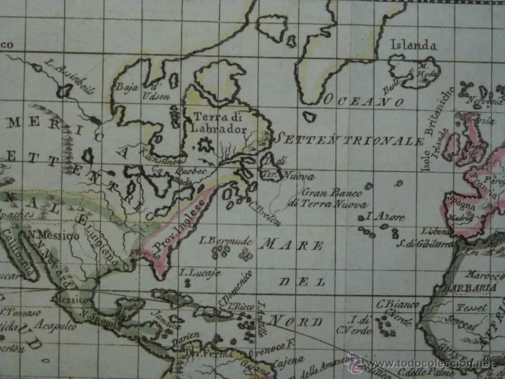 Arte: Mapa de América del Norte y Sur ,1809. - Foto 4 - 53975996