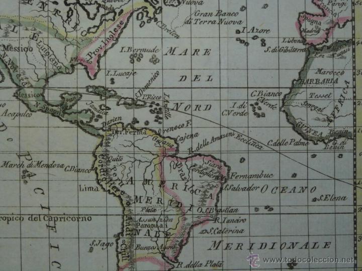 Arte: Mapa de América del Norte y Sur ,1809. - Foto 5 - 53975996