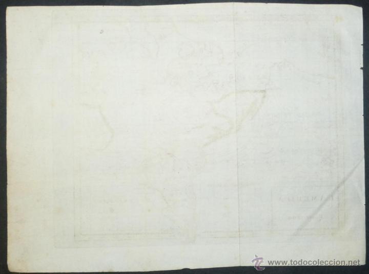 Arte: Mapa de América del Norte y Sur ,1809. - Foto 7 - 53975996