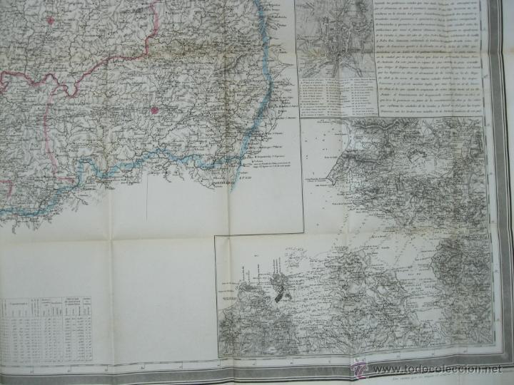 Arte: Atlas de España ( Mapa de A Coruña),1856. Francisco Coello/Madoz - Foto 5 - 54579074
