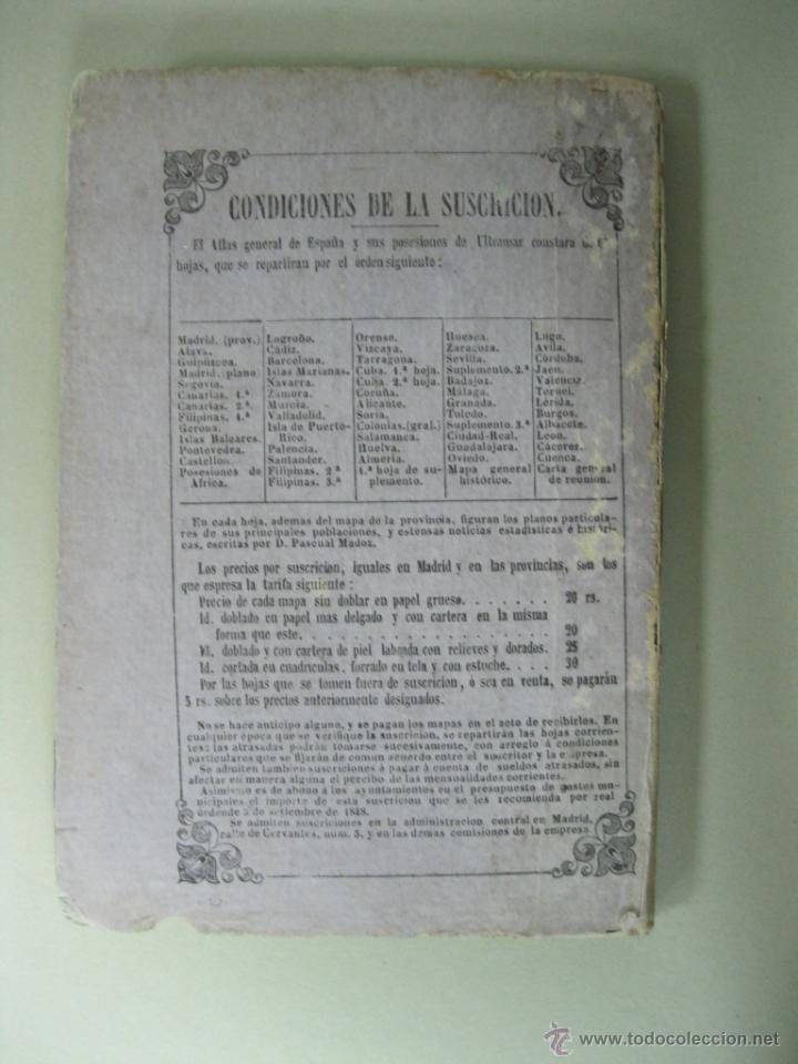 Arte: Atlas de España ( Mapa de A Coruña),1856. Francisco Coello/Madoz - Foto 9 - 54579074