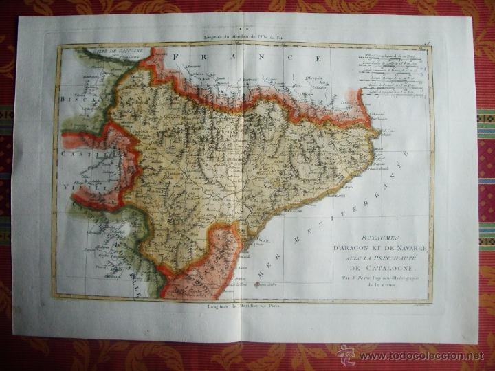 1787-MAPA TUDELA-ZARAGOZA-TARRAGONA-MATARO-TORTOSA-BARBASTRO-PAMPLONA-DAROCA-LLEIDA-HUESCA-JACA-MUEL (Arte - Cartografía Antigua (hasta S. XIX))