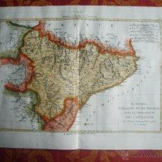 Arte: 1787-MAPA TUDELA-ZARAGOZA-TARRAGONA-MATARO-TORTOSA-BARBASTRO-PAMPLONA-DAROCA-LLEIDA-HUESCA-JACA-MUEL. Lote 55012193