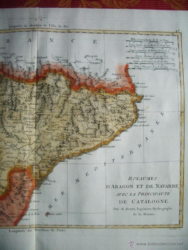 Arte: 1787-MAPA TUDELA-ZARAGOZA-TARRAGONA-MATARO-TORTOSA-BARBASTRO-PAMPLONA-DAROCA-LLEIDA-HUESCA-JACA-MUEL - Foto 3 - 55012193