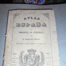 Arte: ANTIGUO MAPA - ALAVA 1848 - ATLAS DE ESPAÑA Y SUS POSESIONES DE ULTRAMAR POR D. FRANCISCO COELLO . Lote 55710701