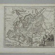 Arte: MAPA DE EUROPA ANTIGUA, 1711. P. CLUVER. Lote 55864785